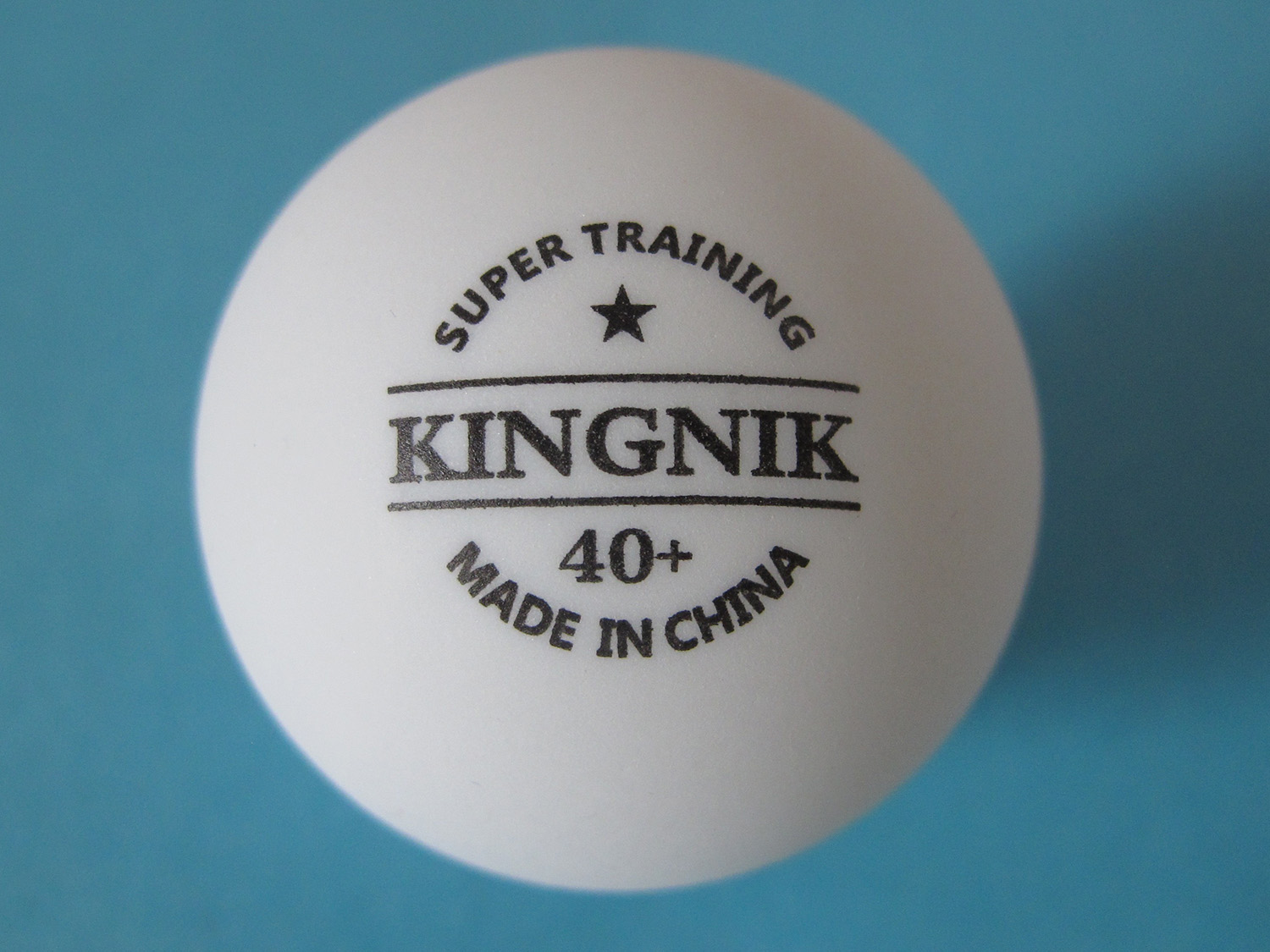 Kingnik abs material super training 40 plastic table for 100 table tennis balls
